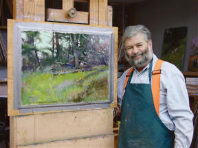 Albert Handell: In The Cedar Grove At Point Lobos DVD (Pastel Instruction) - Click to enlarge