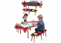Alex Toy's SUPER ART TABLE WITH PAPER ROLL