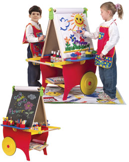 ALEX TOYS Super Rolling Art Center