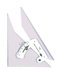 Alvin Adjustable Triangle 12 In Tech Grade
