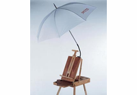 "Alvin Artist Umbrella, 52"" Dia White"