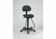 Alvin� Black Economy Drafting Height Chair