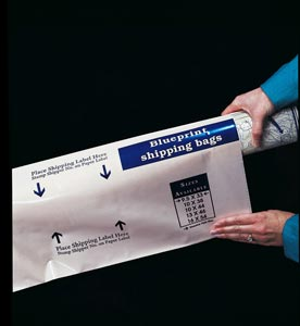 "Alvin� Blueprint Shipping Bag 10"" x 44"" (box of 100)"