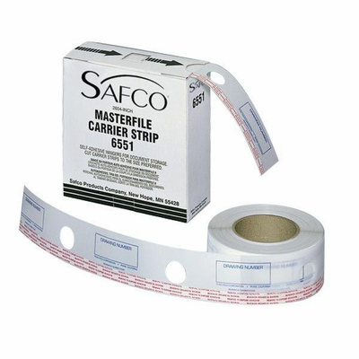 "Safco� MasterFile Polyester Strips 2�""w x 216'l"