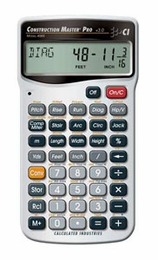 Calculated Industries� Construction Master� Pro Calculator