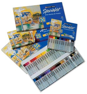 Cray-Pas� Specialist� Oil Pastel 50-Color Set