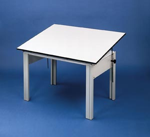 Alvin� DesignMaster Office Height Drawing Table - Click to enlarge