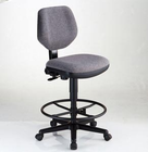 Alvin� Comfort Classic Deluxe Drafting Height Task Chair (Black or Gray)