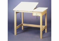 Alvin F3042-30A Wood 4 Post Table 30X42X30H