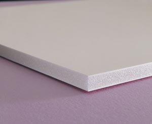"Elmer's� Foam Board 48"" x 96"" White 3/16"" 25 Sheets"