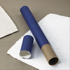 "Alvin® Blue Fiberboard Tubes 43"" (box of 36)"
