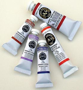 Alvin Paint W/C Aureolin 3/Bx 37Ml