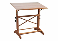 "Alvin Pavillon Art and Drawing Table Unfinished Wood Top 24"" x 36"""