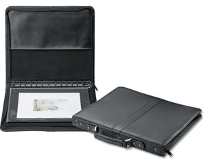 Prestige� Premier� Black Series Leather Presentation Case 14