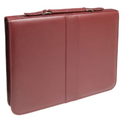 Prestige™ Premier™ Burgundy Series Leather Presentation Case 14