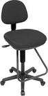 Alvin Studio Drafting Chair, Black