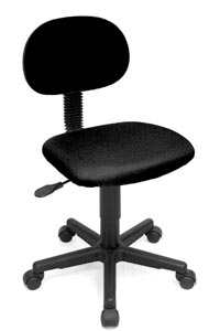 "Alvin Task Chair- ""Varsity Gas"""