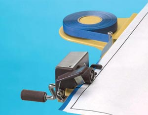 Alvin Threaded Edging Tape-Blue