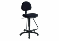 Alvin� Viceroy Artist/Drafting Black Chair