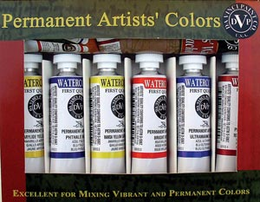 Alvin Watercolor Set/6 15 Ml Tubes