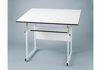 "Alvin� WorkMaster� Jr. Table, White Base, White Top 31"" x 42"""
