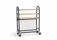 AMACO Kiln Shelf Cart with shelves