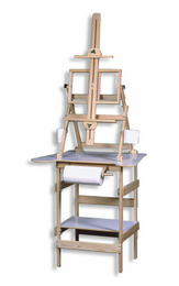 American Easel Deluxe Paint Station - Click to enlarge