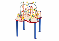ANATEX Fleur Rollercoaster Table (metal legs)