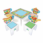 ANATEX Mary Engelbreit Tea Time Table &2 Chairs
