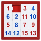 ANATEX Number Puzzle Panel 1-15