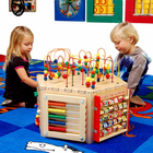 ANATEX Six Sided Play Cube