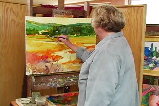Ann Templeton: Abstracting The Landscape in Oil DVD - Click to enlarge