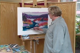 Ann Templeton: Abstracting The Landscape in Pastel DVD - Click to enlarge