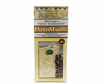 Arnold Grummers PAPERMAKING Kit & Video Set With Dip Handmold (Large size 8 1/2