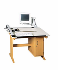 Art/CAD/Graphics Table Vertical Tower w/ Flex Monitor Arm