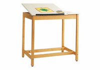 Art/Drafting Table - 36x24x30 (Quick Ship)-17 Wt-65