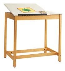 Art/Drafting Table - 36x24x37-21 Wt-70-S