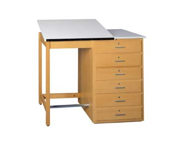 Art/Drafting Table – adjustable top