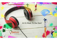 Art is music to our ears...