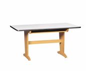 Art/Planning Table w/book compartments  (Quick Ship)-6 Wt-145