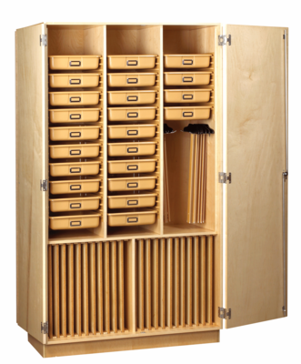 Art Supply Cabinet - Click to enlarge