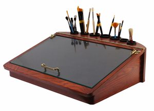 Artisan Tabletop Painting  Desk - Click to enlarge