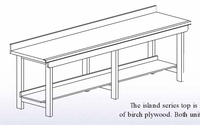 """Aux. Workbench - Wall Series., 32""""-11"""
