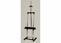Avanti II Metal Double Post Easel - Black