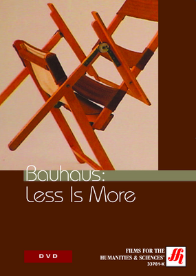 Bauhaus: Less Is More Video (CC) DVD/VHS