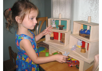Beka Maple Wood DOLL HOUSE