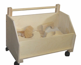BEKA Toy Chest on Wheels