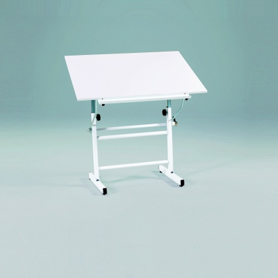 BelAire Neuvo Table Base with Martin White Top, 30