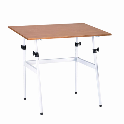 """Berkeley Classic White Base with 30"""" x 42"""" Cherrywood C Top"""