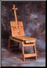BEST CABALLO Art Bench-Easel - Click to enlarge
